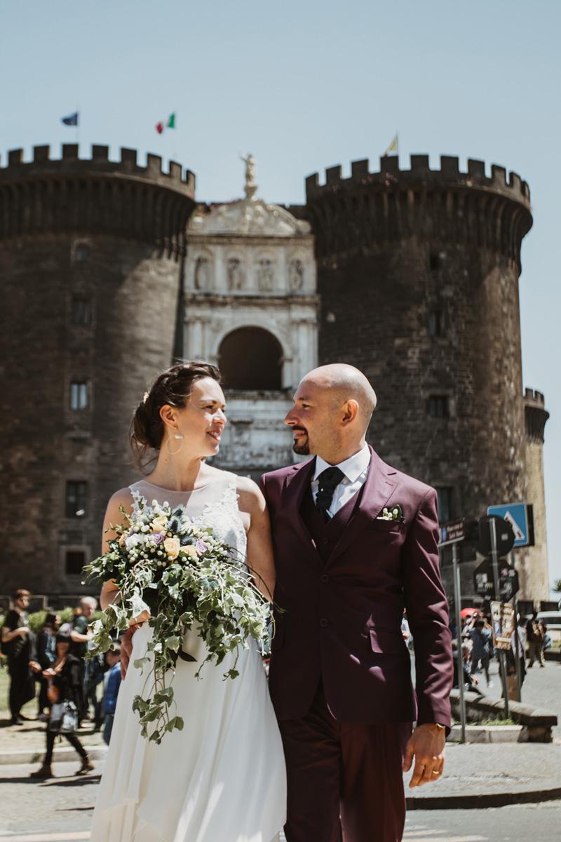 www.fabioschiazza.com - Maschio Angioino - Destination wedding photographer Rome