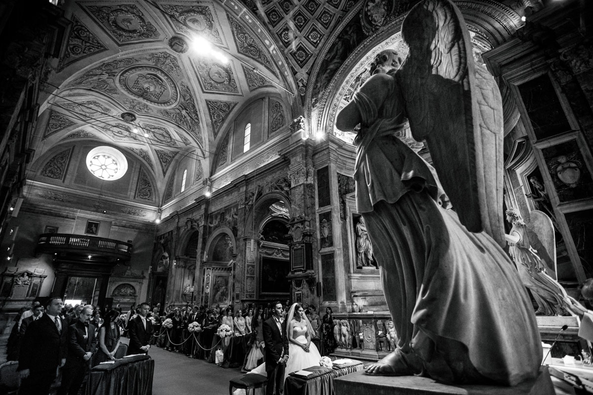www.fabioschiazza.com - San Pietro in Montorio - Destination wedding photographer Rome
