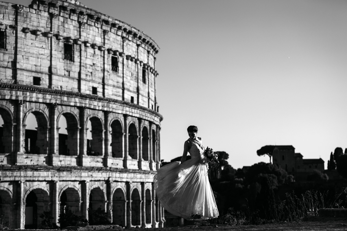 www.fabioschiazza.com - Colosseum - Destination wedding photographer Rome