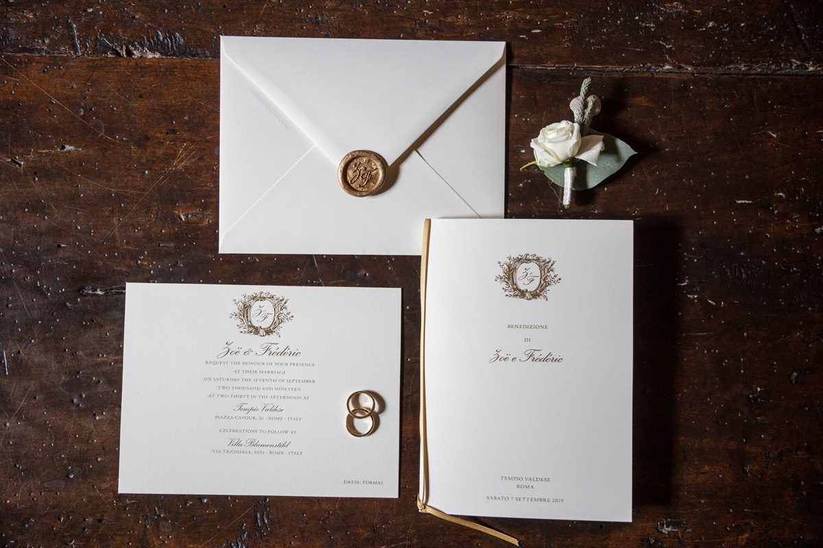 www.fabioschiazza.com - wedding invitations - Destination wedding photographer Rome