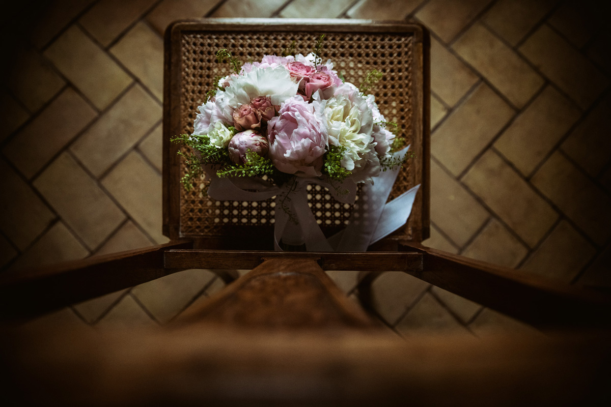 The bouquet in a picture by Fabio Schiazza