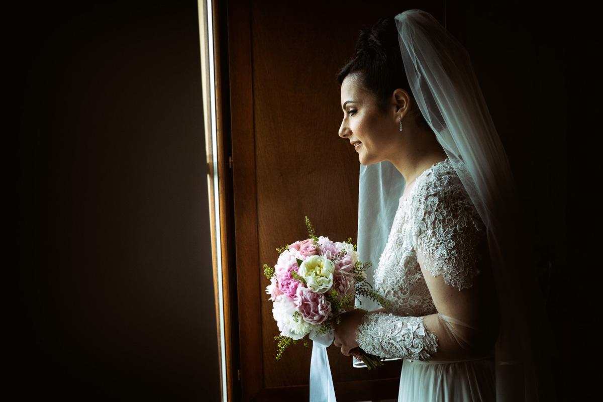 A bride in a Pic by Fabio Schiazza