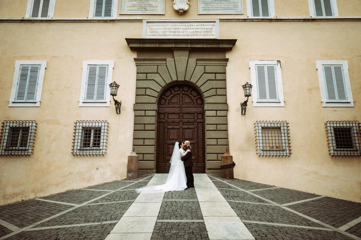 Castelgandolfo in a pic by Fabio Schiazza