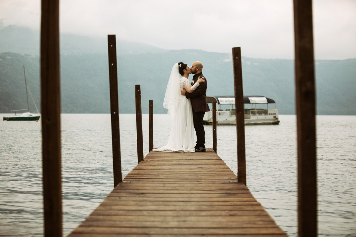 Albano Lake in a pic by Fabio Schiazza