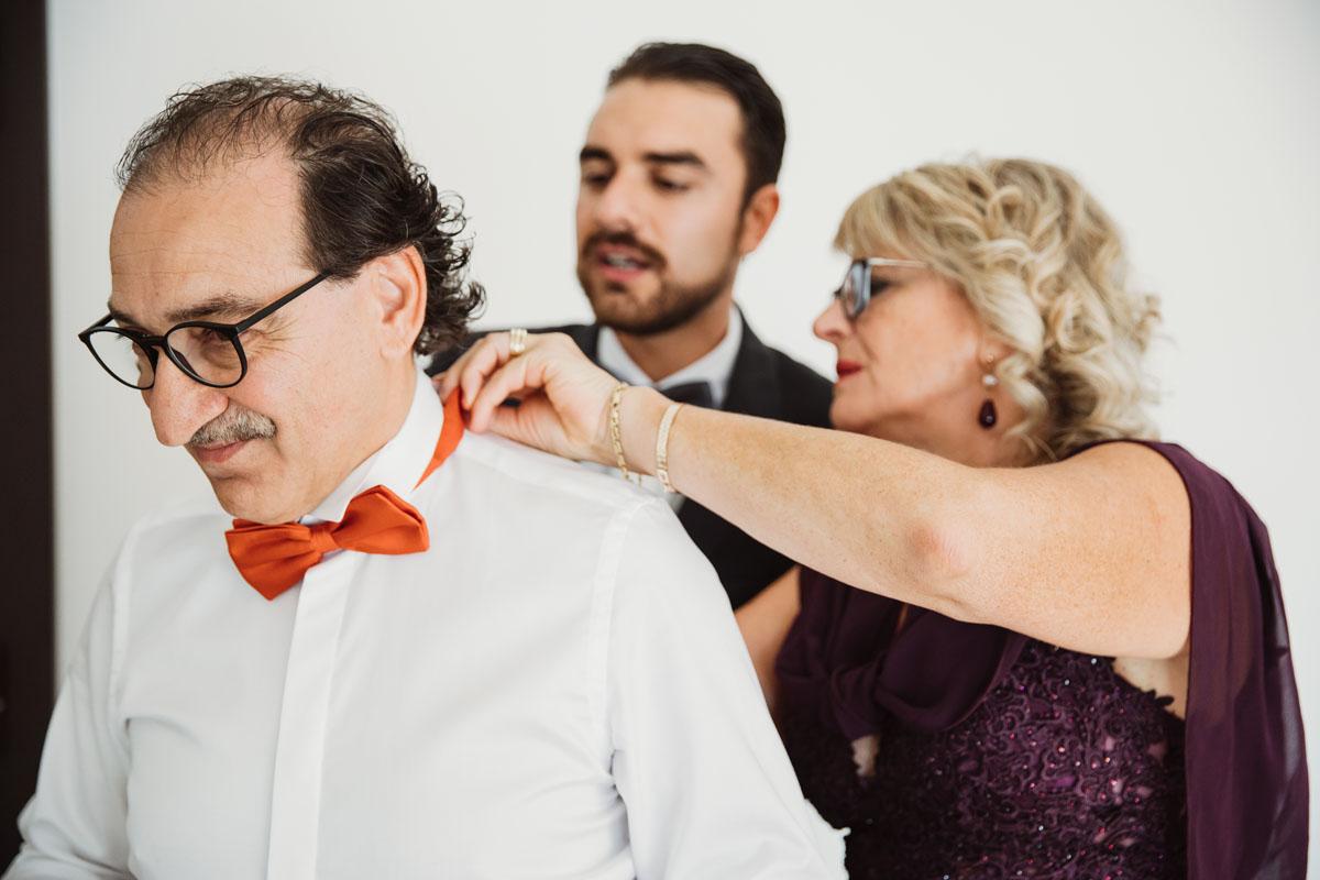 the bride's father in a pic by Fabio Schiazza