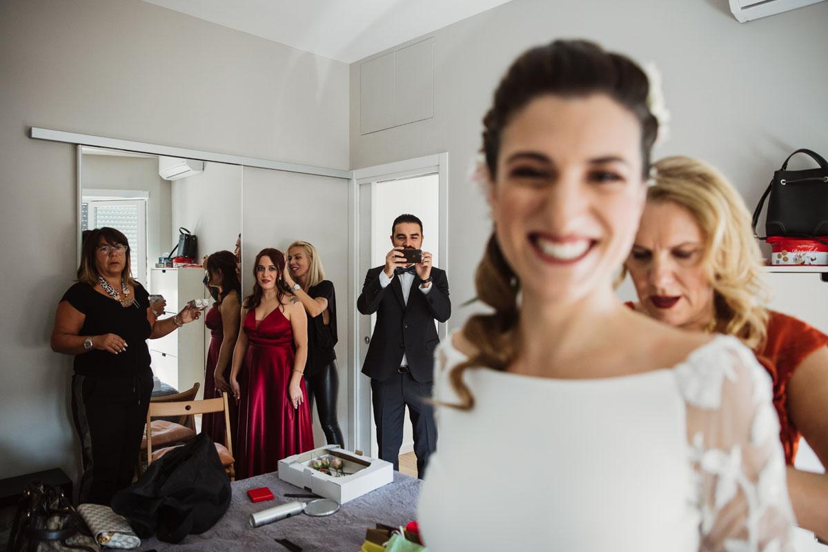 the bride's family in a pic by Fabio Schiazza