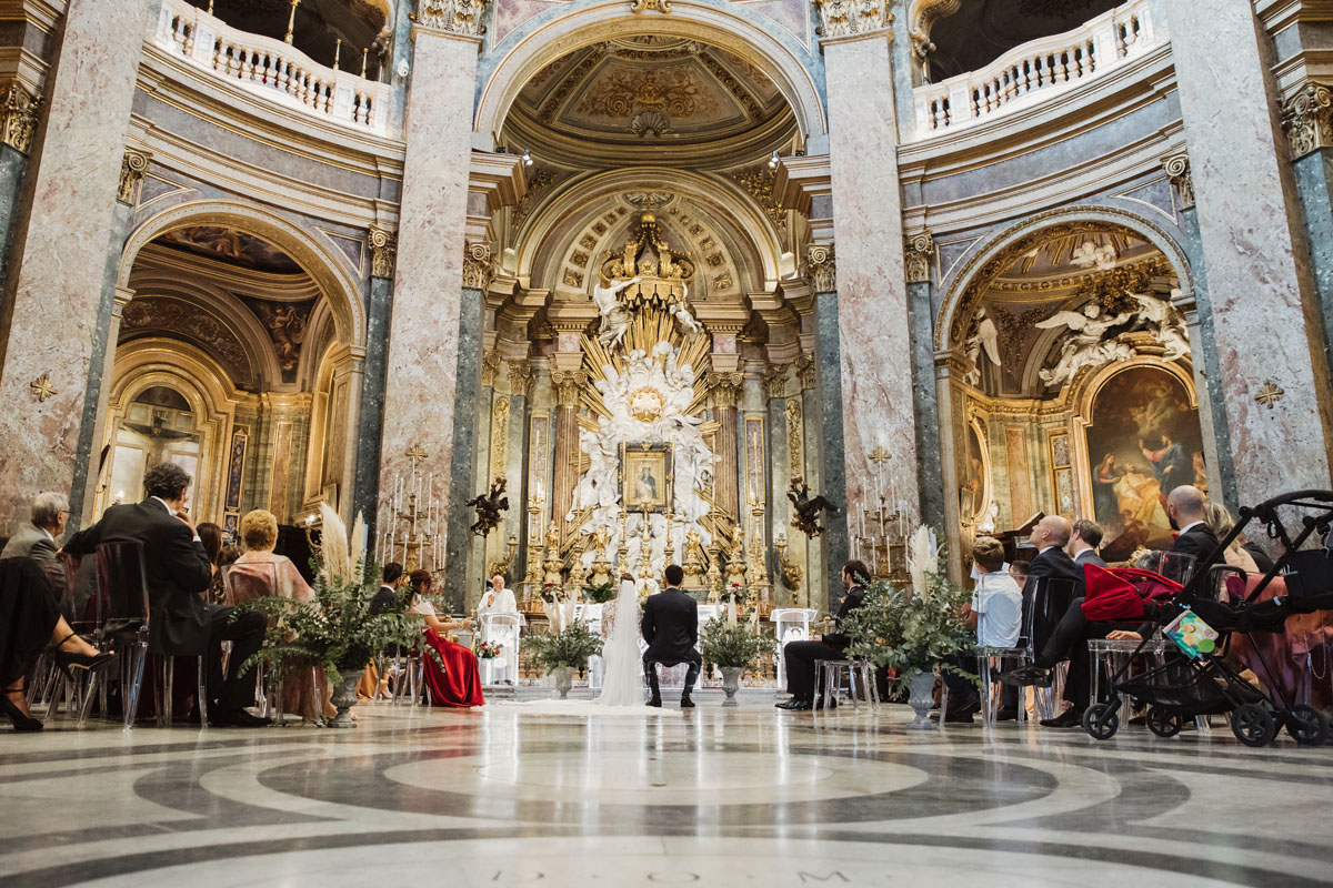 SS. Cuore di Maria al Foro Traiano church in a pic by Fabio Schiazza