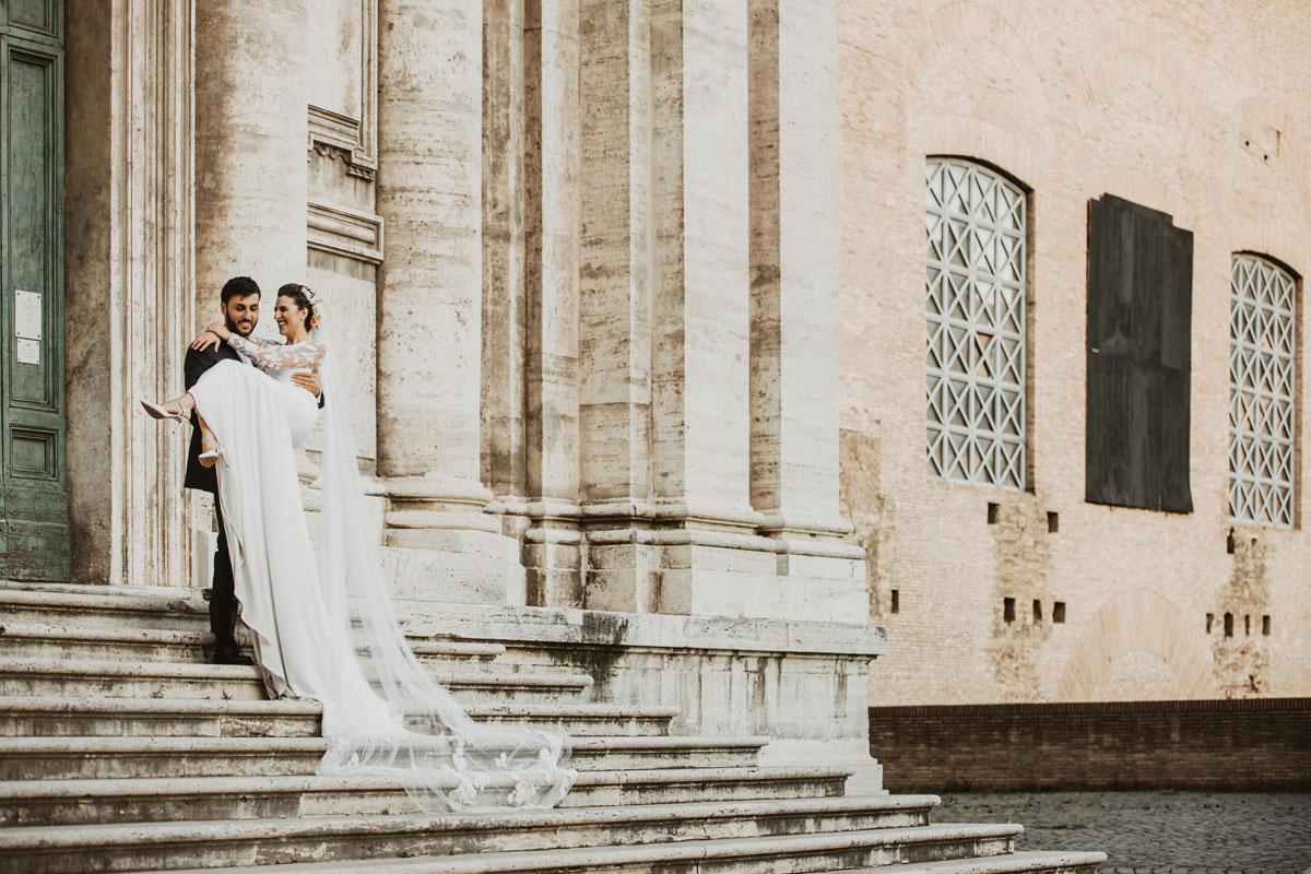 Santi Luca e Martina Church in a pic by Fabio Schiazza