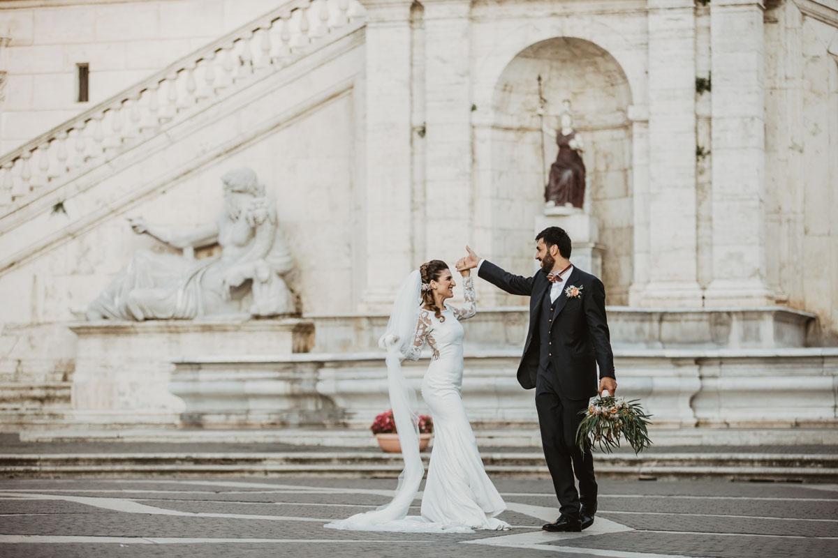 Dancing @ Campidoglio in a pic by Fabio Schiazza