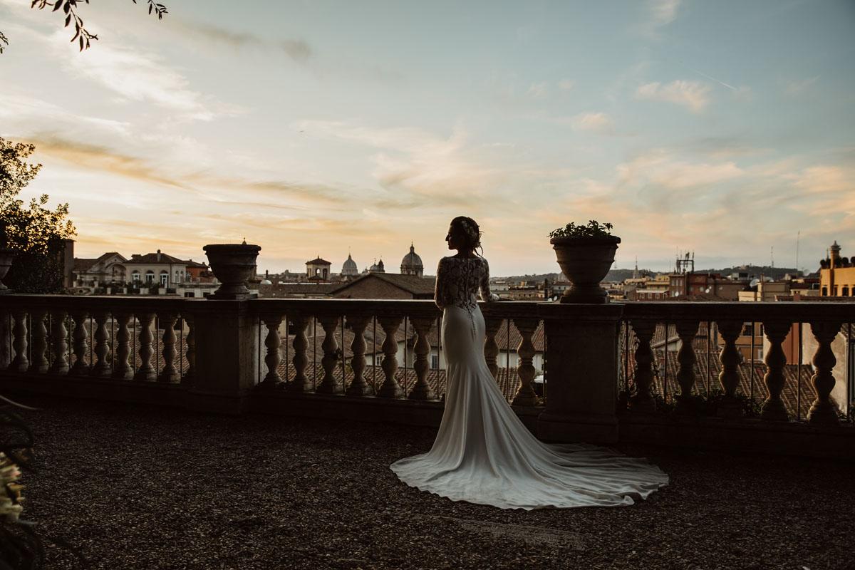 the bride's dressin a pic by Fabio Schiazza