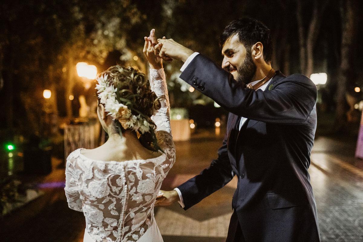 Dancing at Casina di Macchia Madama in a pic by Fabio Schiazza