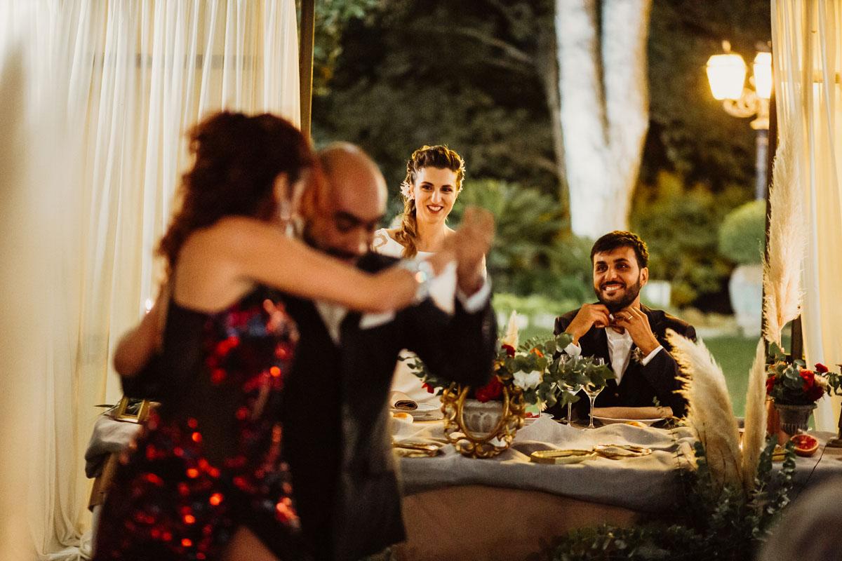Tango at Casina di Macchia Madama in a pic by Fabio Schiazza